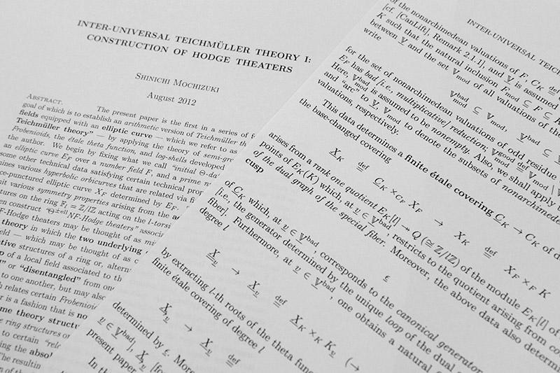 abc and d: The abc conjecture and Mochizuki